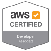 AWS Badge - Antonio Feijao - AWS Certified Developer - Associate certificate