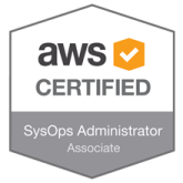 AWS Badge - Antonio Feijao - AWS Certified SysOps Administrator - Associate certificate